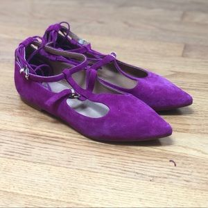Free People Purple Flats